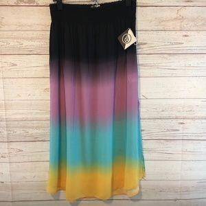 Volcom Dreamsicle skirt, NWT's